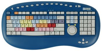 Bella Professional Series Keyboard for Avid Xpress DV (PC) - Keyboard - USB - jog/shuttle controller