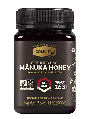 Comvita Certified UMF 10+ (MGO 263+) Raw Manuka Honey, 17.6 Ounce