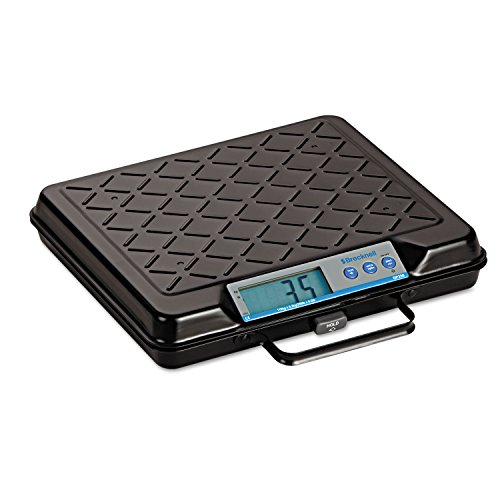 Brecknell GP250 Portable Electronic Utility Bench Scale 250lb Capacity 12 x 10 Platform
