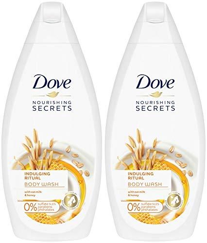 Dove Nourishing Secrets Indulging Ritual Body Wash with Oat Milk and Honey,...