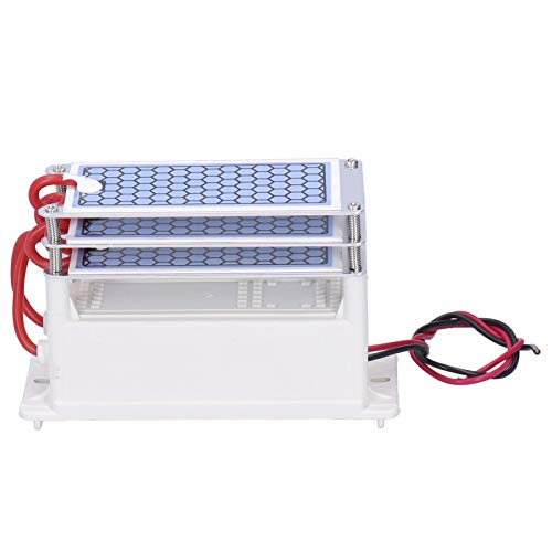 Socobeta Placa cerámica placa ozonizador generador ozono ozono generador cerámica para lavavajillas para filtros de aire (AC220V)
