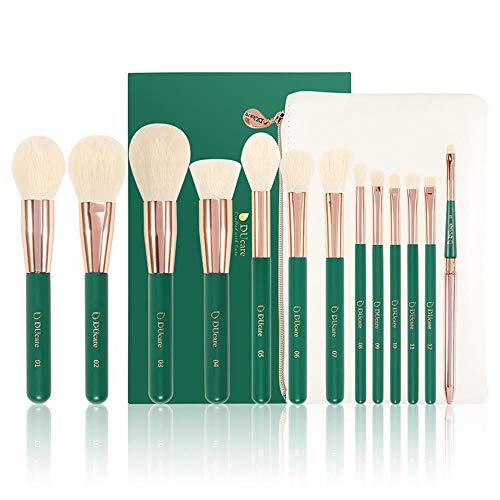 13 Pinceles De Maquillaje Set Sombra De Ojos Base Líquida Maquillaje De Labios Pincel Cosméticos Conjunto De Herramientas De Belleza