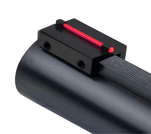 Toni system cod. MR81 MV81 Punto mira Fibra optica para Banda Escopeta ø1,0mm Rojo Verde (Rojo)