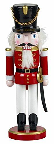 yanka-style Nussknacker Nußknacker Soldat ca. 26 cm hoch aus Holz farbig Weihnachten Advent Geschenk Dekoration (92030-26S)