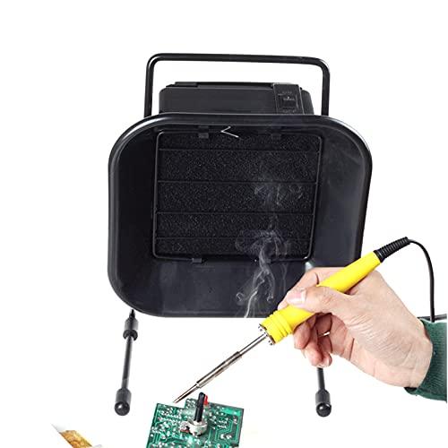 Extractor de Humos de Soldadura, Absorbente de Prevención de Humos de Soldadura para Trabajo de Taller DIY e Planchar