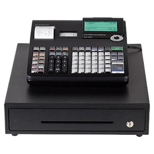 Casio PCR-T2300 Electronic Cash Register,Black