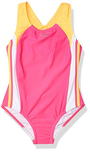 Speedo Girls' Infinity Splice One Piece Swimsuit