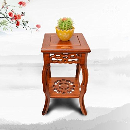 LJ Orme de style chinois classique Supports à fleurs carrées ( taille : 60 cm )