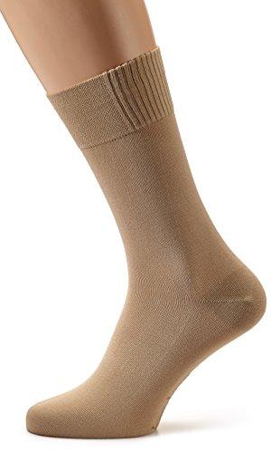Nur Der Herren Bambus Socken, Beige (leinen 615), 43/46