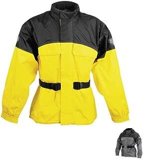 Firstgear Rainman Jacket (XX-LARGE) (BLACK/YELLOW)