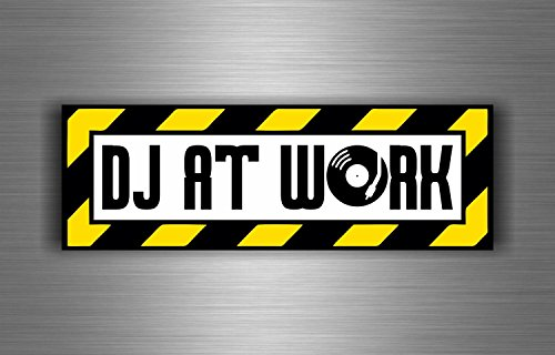 "Akachafactory Kfz-Aufkleber ""DJ at Work"""