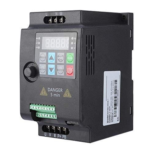 Convertidor de frecuencia 220V / 380V 6 velocidades, inversor trifásico, para equipamiento textil para motor(220VAC 2.2KW)