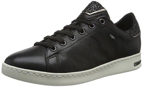Geox Damen D JAYSEN A Sneaker, Schwarz (BLACKC9999), 41 EU