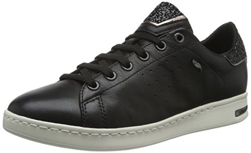 Geox Damen D JAYSEN A Sneaker, Schwarz (BLACKC9999), 38 EU