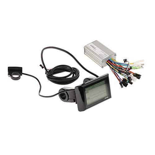 F Fityle 24-48V 350W / 500W Controlador de Motor USB Panel de Pantalla LCD - 350W