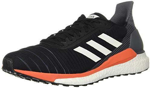 adidas Running Solar Glide 19 Core Black/Footwear White/Solar Orange 10 D (M)