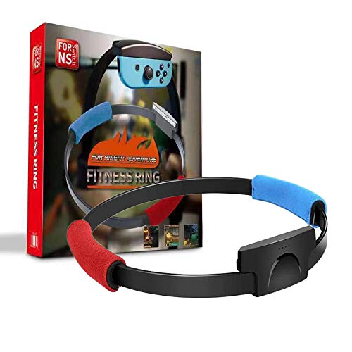 Ring-Con para NS Switch Fitness Ring Fit Adventure Sport Juego de juegos Correa ajustable para la pierna Sport Band Ring-Con Antideslizante Puños