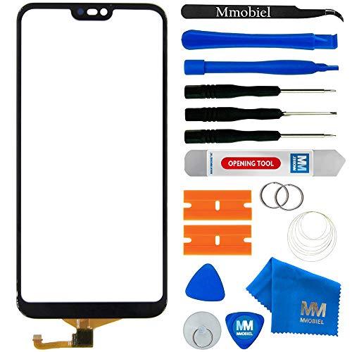 MMOBIEL Digitizer Touchscreen Display Ersatz kompatibel mit Huawei P20 Lite 5.84 Inch (Schwarz) Display inkl Werkzeug