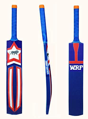 SMT M_F Genius Virat Kohli Popular Willow Cricket Bat with Ball, wood, Multicolour