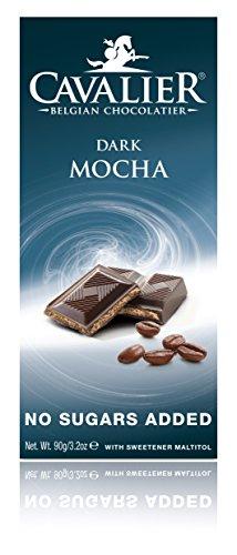 Cavalier Dunkle Mokka-Schokolade mit Maltit und Laktit, 90g-Tafel