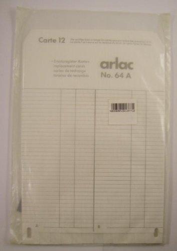 Arlac - Ersatzregister Karten (A-Z) No. 64A