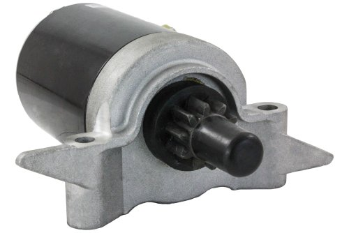 Rareelectrical NEW 12 VOLTS 10 TOOTH COUNTERCLOCKWISE STARTER MOTOR COMPATIBLE WITH TECUMSEH OV691EA EP TVT691 VTX691 37284