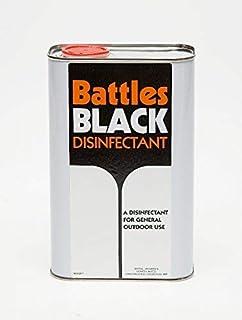 Battles Black Disinfectant, 1 Litre