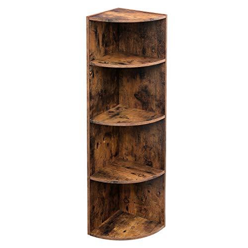 Wicker Corner Shelves