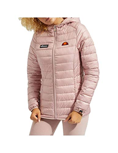 Ellesse Lompard Padded Jacket Chaqueta, Mujer, Pink, M