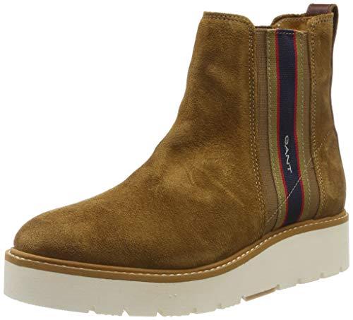 GANT Footwear Damen Casey Stiefeletten, Braun (Cognac G45), 40 EU