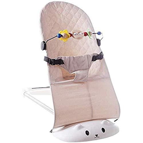GTBF Silla de balanceo de bebé Plegable, Silla para niños pequeños multifunción portátil para el niño recién Nacido