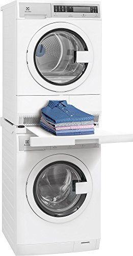of width of stackable washer dryers Kenmore 02618012 Laundry Install Parts Front Load Washer and Dryer Stacking Kit, White