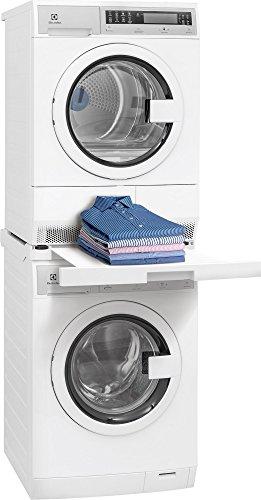 Kenmore lavandería instalar piezas frente carga lavadora y secadora Stacking Kit, Color blanco
