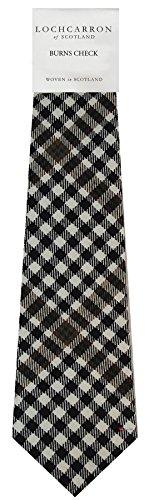 I Luv Ltd Gents Neck Tie Burns Check Tartan Lightweight Scottish Clan Tie
