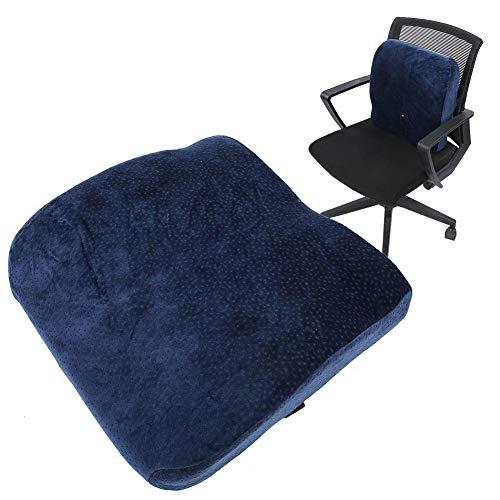 Zyyini, cuscino di supporto lombare, design convesso, può sostenere la vita e la colonna vertebrale, utilizzabile per sedia da ufficio, divano e sedile auto