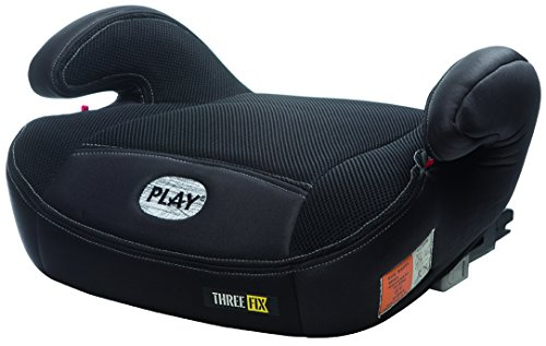 Play Three Fix Autositz Gruppe 2/3 Isofix, schwarz