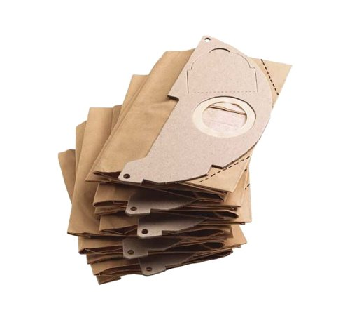 KÄRCHER Filtertüten 6.904-322.0 + Patronenfilter 6.414-552.0 für KÄRCHER Nass- und Trockensauger A 2003, A 2004, A 2014, A 2054, A 2064, WD 2.200, WD 2.250,
