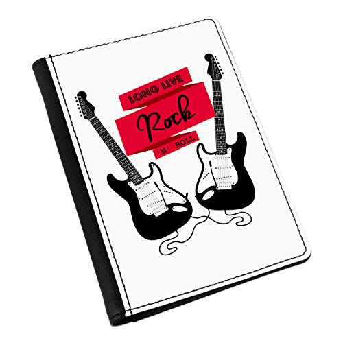 Long Live Rock N Roll Guitarra Eléctrica Funda de Pasaporte