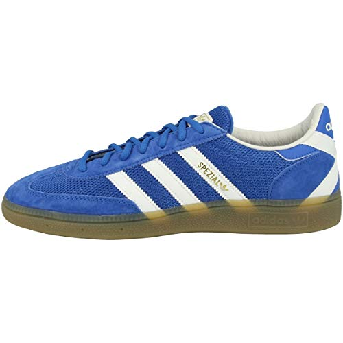 adidas Herren Sneaker Low Handball Spezial, Blue Off White Gold Metallic Ee5728, 40 2/3 EU