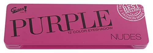 Gloss! Purple Nudes Palette de Maquillage, Coffret Cadeau-Coffret Maquillage