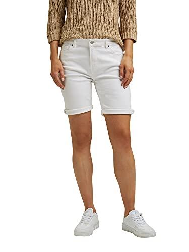 ESPRIT Damen 991EE1C303 Shorts, 100/WHITE, 38