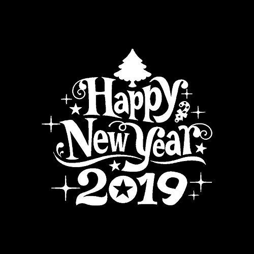 Amphia - 2019 Wandaufkleber,Neujahr Frohe Weihnachten Wandaufkleber Home Shop Windows Decals Decor