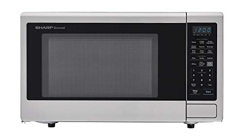 Sharp ZSMC2242DS Countertop 1200 Watt Microwave Oven 2.2 cu. ft Stainless Steel (Renewed)