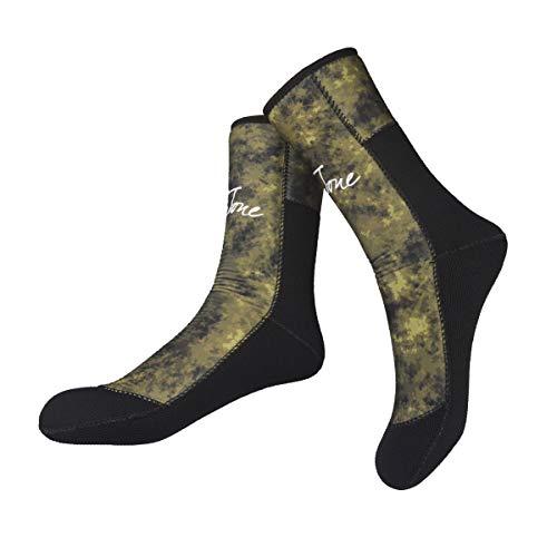 LayaTone Tauchsocken 7mm Neoprensocken Herren Surfen Stiefel Boots Tauchen Schnorcheln Spearfishing Socken Erwachsene Schwimmen Wassersport