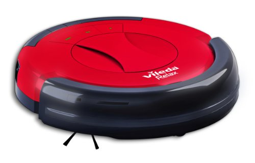 Vileda Relax 145097 Robotic Mop (Red/Black)