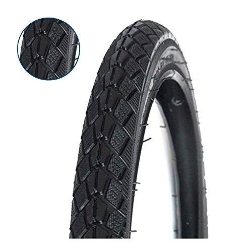 Neumático de bicicleta de 16 pulgadas 16 x 1,75, interior y exterior, antideslizante, alta elasticidad, resistente al desgaste, para bicicleta de montaña, todoterreno, 30 psi.