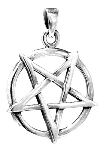 Kiss of Leather Pentagramm Anhänger aus 925 Sterling Silber Nr. 137