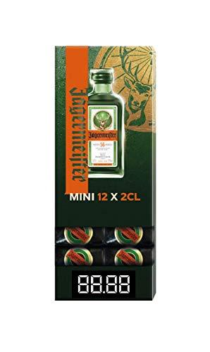 Jagermeister Gravity Pack Herbal Liqueur, 12 x 2 cl