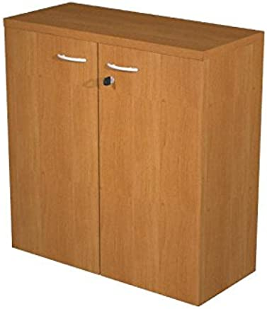 Ideapiu Mobile Melamine Beech Laminate with Doors without Lock  Mis  80 nbsp x 33 nbsp x 72h  Wardrobe with Shelf