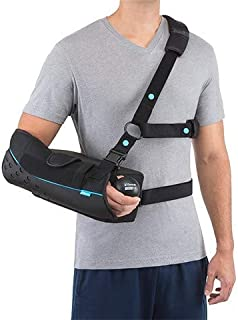 form fit shoulder brace with abduction